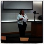 Kimberly Johnson from TWU at Digital Frontiers