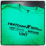 THATCamp Digital Frontiers T-Shirt